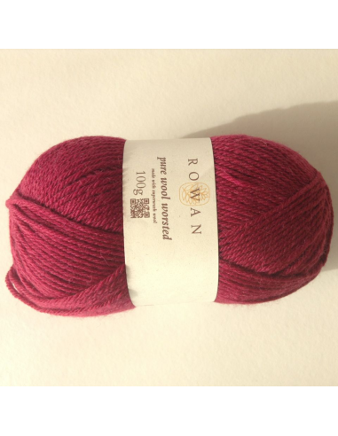 Pure wool worsted, bordeaux