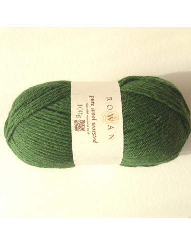 Pure wool worsted, donkergroen