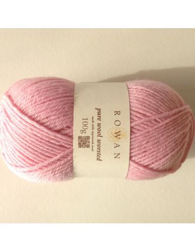 Pure wool worsted, babyroze