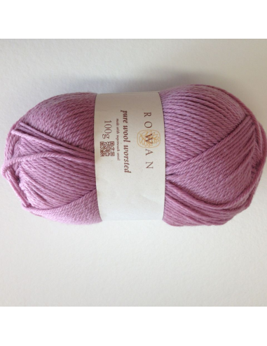 Pure wool worsted, vieux rose