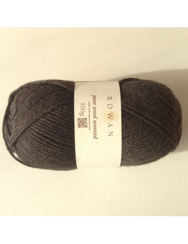 Pure wool worsted, bruin